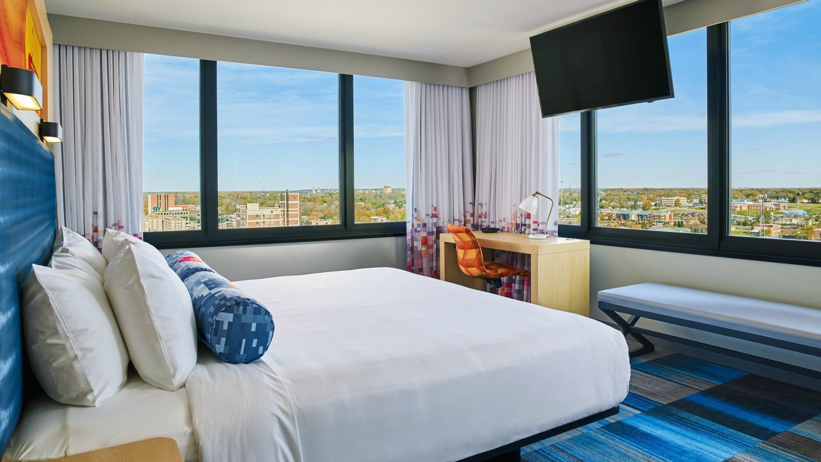 South Bend Accommodations - Aloft Corner King Room